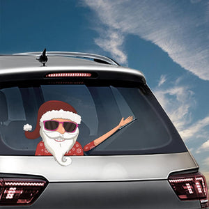 Limited time 30% off - Christmas Waving Wiper Decal