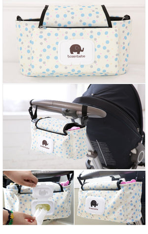 (Buy two free shipping )Stroller Pouch-Stroller Organizer— Third anniversary celebration
