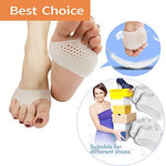 Breathable Metatarsal Pads - Ball Of Foot Pain Relief Cushions