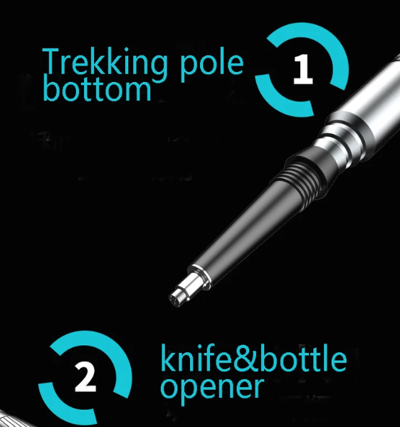 Multi-purpose trekking pole