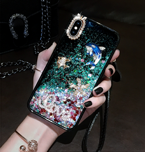 Buy two free shipping—2019 New Fashion Quicksand Glitter IPhone Case-Buy More Save More