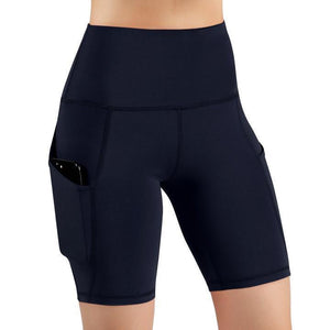 🔥60%OFF-Running Yoga Shorts Tummy Control Side Pockets-Buy 2 FREE SHIPPING