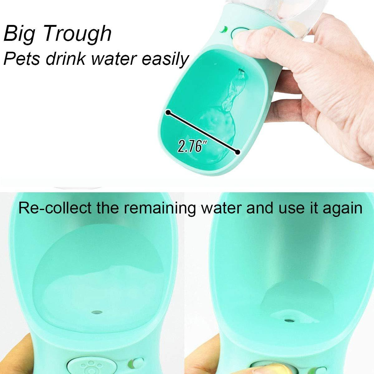 Portable Dog Water Bottle for Walking