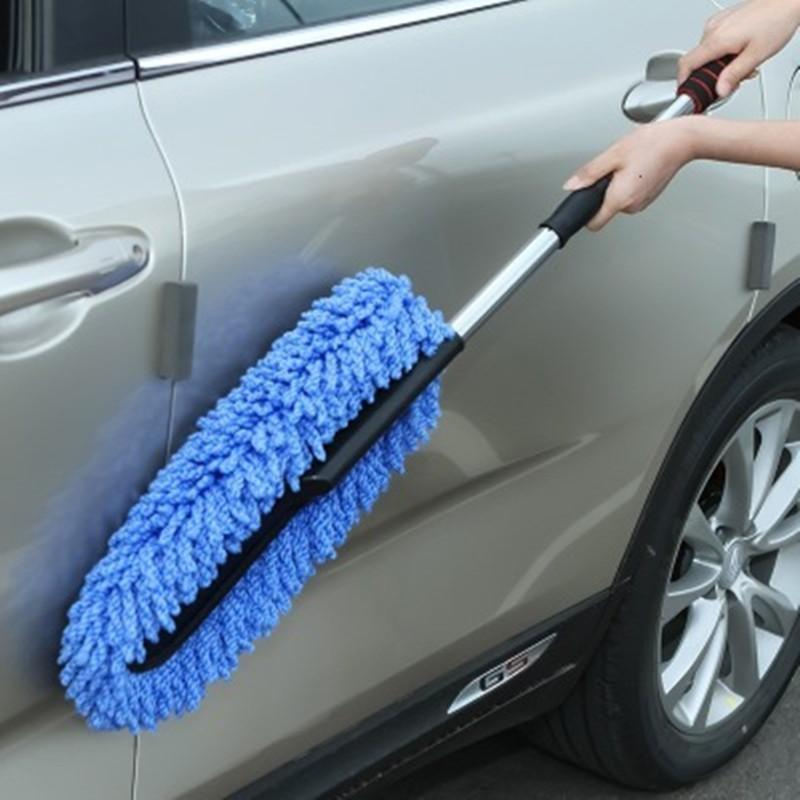 Automotive Fiber Dust Removal Wax Mop-Car Wash Soft Brush