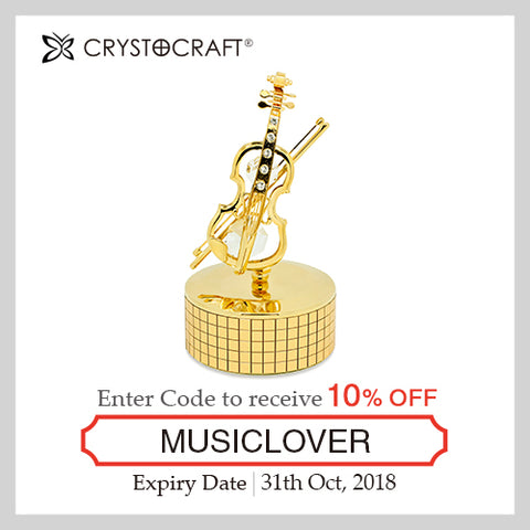 Music Lover Coupon - Violin | Crystocraft Online Shop