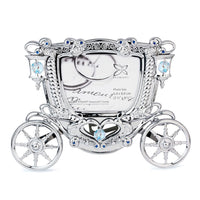 Photo Frame - Crystal Wedding Carriage Photo Frame 2R  | Crystocraft Online Shop