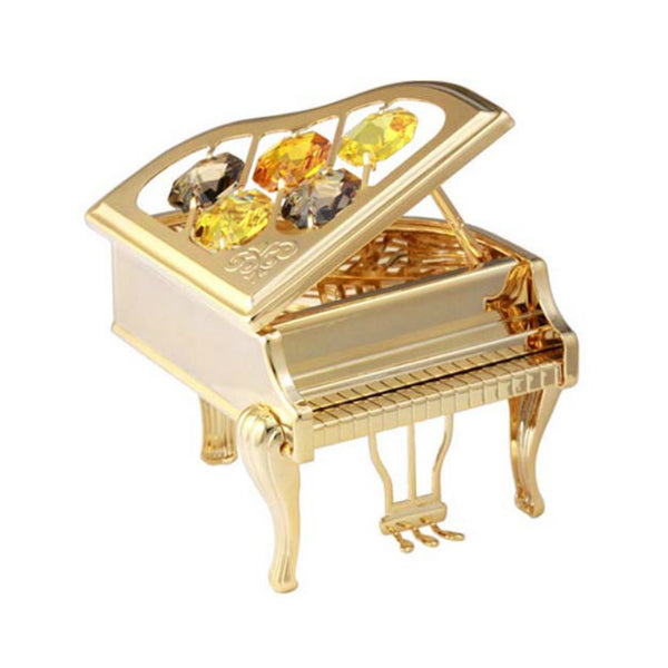Table Deco - Vintage Piano Crystal Figurine Standard | Crystocraft Online Shop