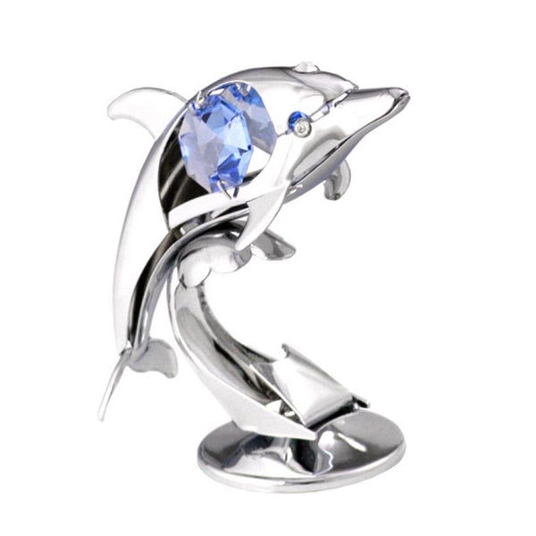 Table Deco - Little Dolphin Crystal Figurine Standard | Crystocraft Online Shop