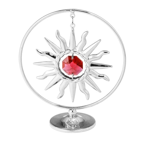 Table Deco - Sunburst Crystal Dangling Figurine Mini Standard | Crystocraft Online Shop