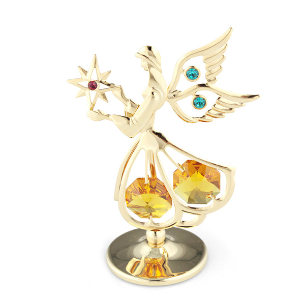 Table Deco - Angel Wings Figurine Crystal Star Communion Gifts Standard | Crystocraft Online Shop