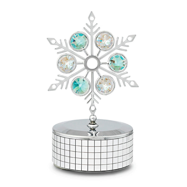 Music Box - Crystal Snowflake Music Box Standard | Crystocraft Online Shop