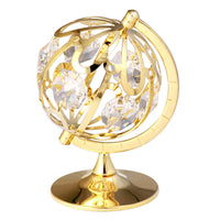 Table Deco - Spinning Globe Crystal Figurine Standard | Crystocraft Online Shop