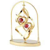 Table Deco - Love Spiral Spinner Crystal Figurine Standard | Crystocraft Online Shop