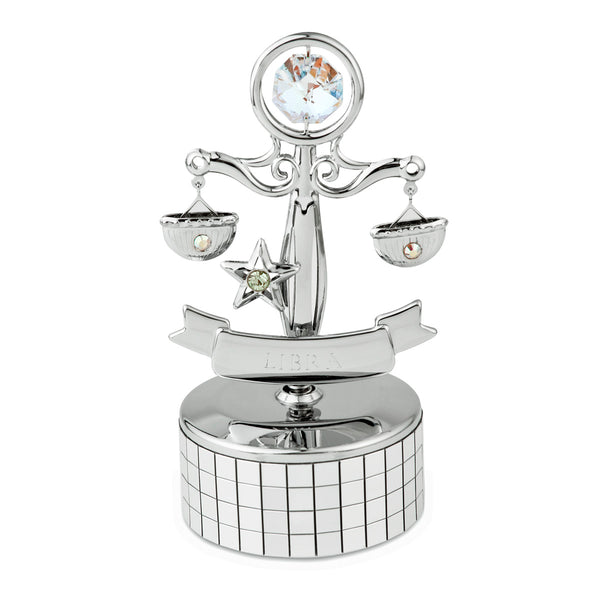 Zodiac - Zodiac Libra Crystal Music Box Mini Standard | Crystocraft Online Shop