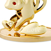 Table Deco - Chinese Zodiac Rabbit Crystal Figurine  | Crystocraft Online Shop