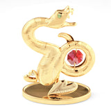 Table Deco - Chinese Zodiac Snake Crystal Figurine Standard | Crystocraft Online Shop