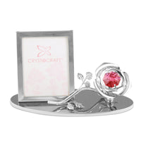 Photo Frame - Mini Crystal Rose 1R Picture Frame Standard | Crystocraft Online Shop
