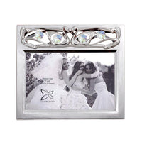 Wedding Gift - Crystal Kissing Swans Photo Frame 4R Standard | Crystocraft Online Shop