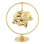 Table Deco - Cute Chinese Zodiac Sheep Crystal Dangling Figurine Standard | Crystocraft Online Shop