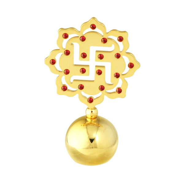 Table Deco - Swastik Symbol Crystal Spiritual Paperweight Mini  | Crystocraft Online Shop