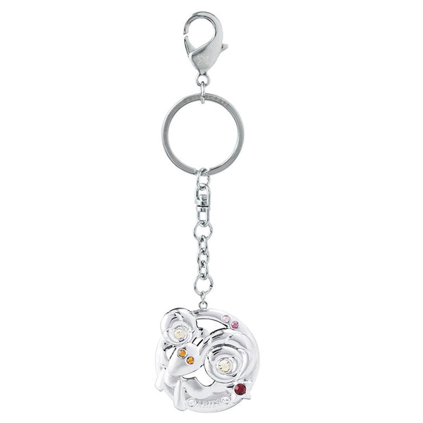 Accessory - Zodiac Aries Crystal Keyring  | Crystocraft Online Shop