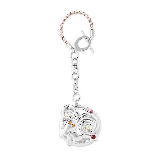 Accessory - Zodiac Aries Crystal Bag Charm  | Crystocraft Online Shop