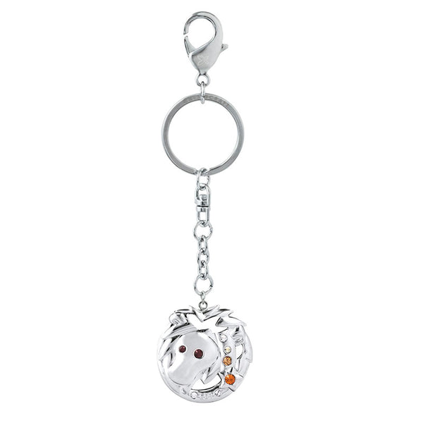 Accessory - Zodiac Leo Crystal Keyring  | Crystocraft Online Shop