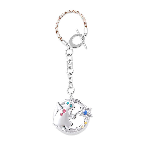 Accessory - Zodiac Virgo Crystal Bag Charm  | Crystocraft Online Shop