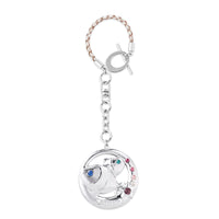 Accessory - Zodiac Pisces Crystal Bag Charm  | Crystocraft Online Shop