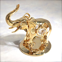 Table Deco - Elephant Crystal Figurine  | Crystocraft Online Shop