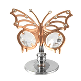 Table Deco - Angelwing Butterfly Crystal Figurine Rose Gold / Standard | Crystocraft Online Shop