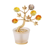 Table decorate - Crystal Tree Figurine Gold | Crystocraft Online Shop