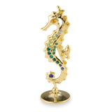 Table Deco - Seahorse Figurine Gold / Standard | Crystocraft Online Shop
