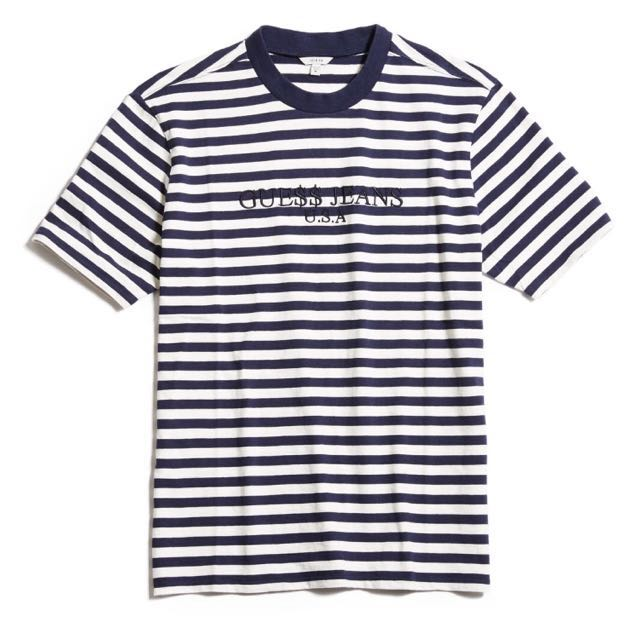 7abf37b969 Guess x Asap Rocky Stripe T Shirt – The Impossible Store