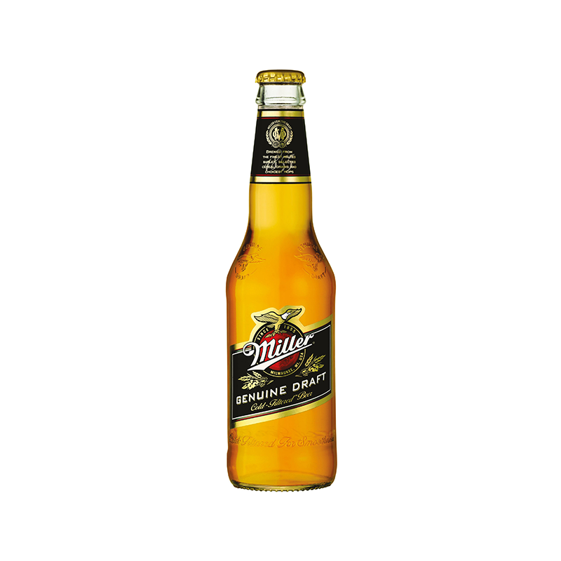 "Miller Genuine Draft <br> <font size=""3"">24 x 0.33L - Glas</font>"