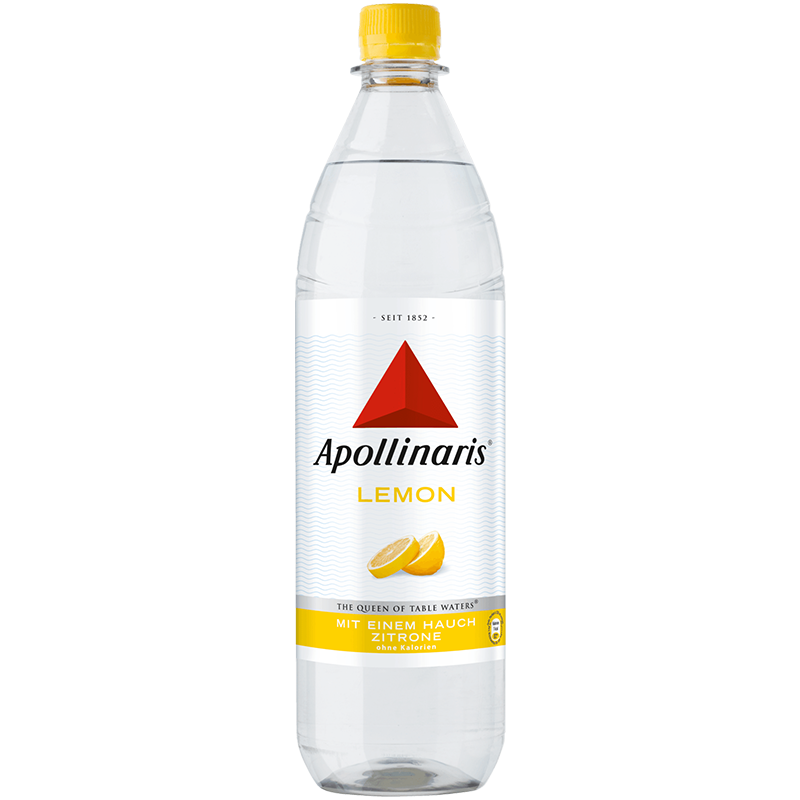 "Apollinaris Lemon <br> <font size=""3"">10 x 1.0L - PET</font>"