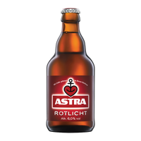 "Astra Rotlicht <br> <font size=""3"">27 x 0.33L - Glas</font>"