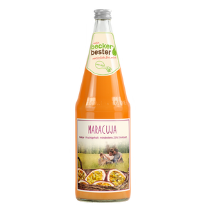 "Beckers Bester Maracuja <br> <font size=""3"">6 x 1.0L - Glas</font>"