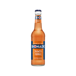 "Bionade Ingwer-Orange <br> <font size=""3"">12 x 0.33L - Glas</font>"