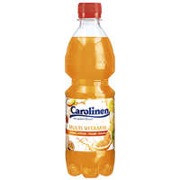 "Carolinen Multi Vitamin <br> <font size=""3"">11 x 0.5L - PET</font>"