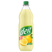 "Deit Grapefruit <br> <font size=""3"">12 x 1.0L - PET</font>"