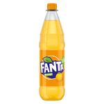 "Fanta Orange <br> <font size=""3"">12 x 1.0L - PET</font>"