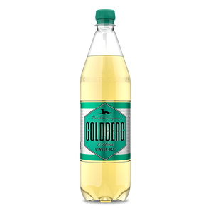 "Goldberg & Sons Ginger Ale <br> <font size=""3"">12 x 1.0L - PETCycle</font>"