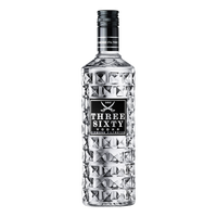 "Three Sixty Wodka <br> <font size=""3"">1 x 0.7L - Glas</font>"