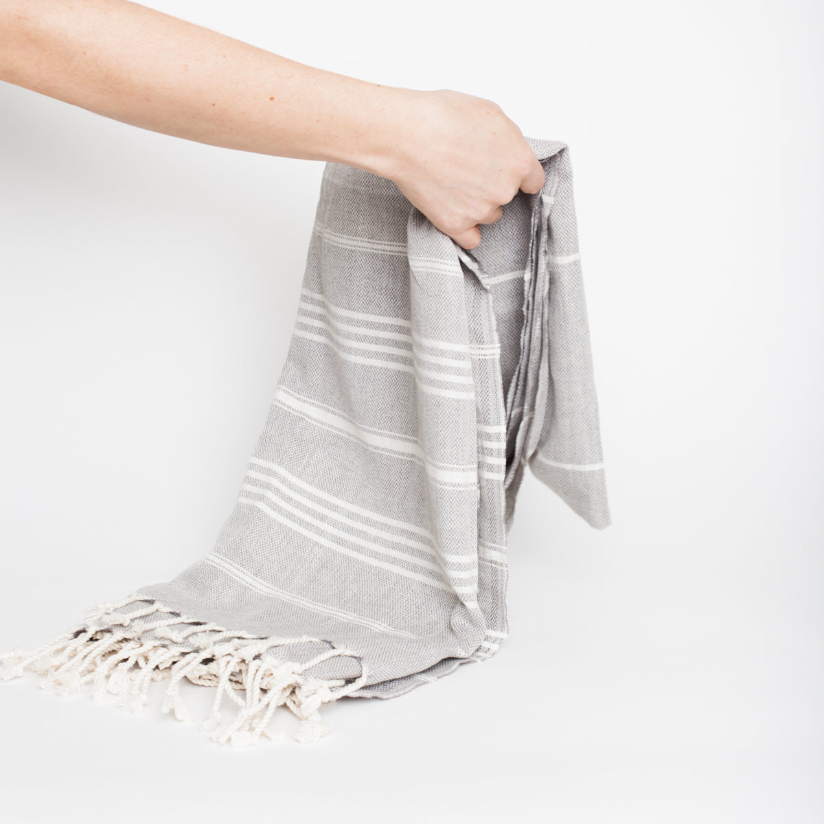 Turkish towel beige fouta HOM & CO