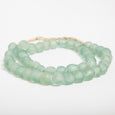 Hom & Co | Aqua recycled glass beads beach house decor