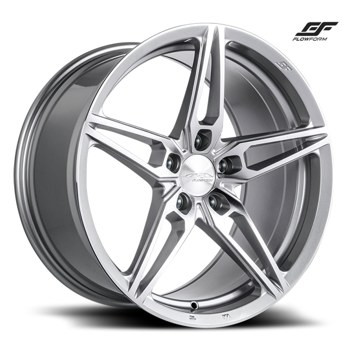 ACE ALLOY AFF01 - Liquid Silver w/ Machined Face