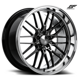 ACE ALLOY AFF04 - Black Chrome Machined Lip