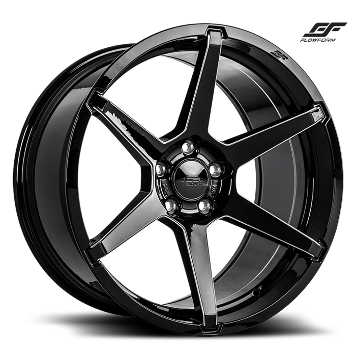 ACE ALLOY AFF06 - Gloss Black Milled
