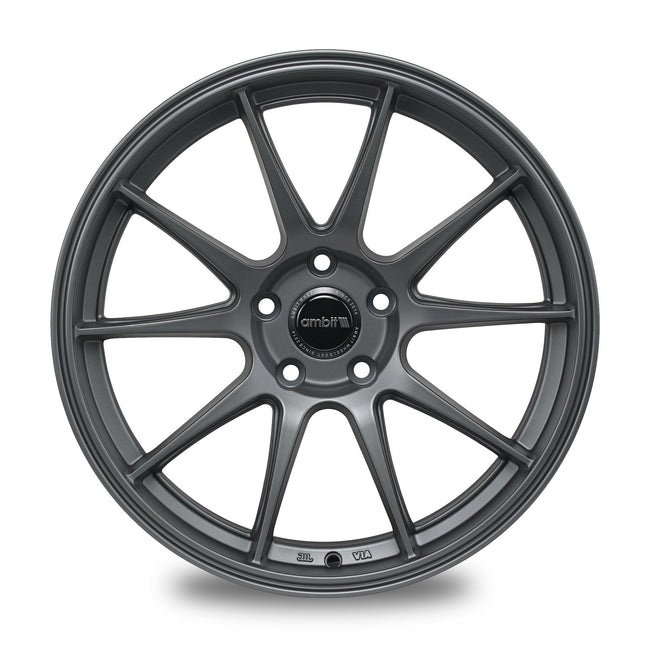 AMBIT/DOSS WHEELS RS18 - Matte Gunmetal
